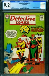 DETECTIVE #318 CGC 9.2 -CAT-MAN-BATWOMAN-BATMAN 2039573008