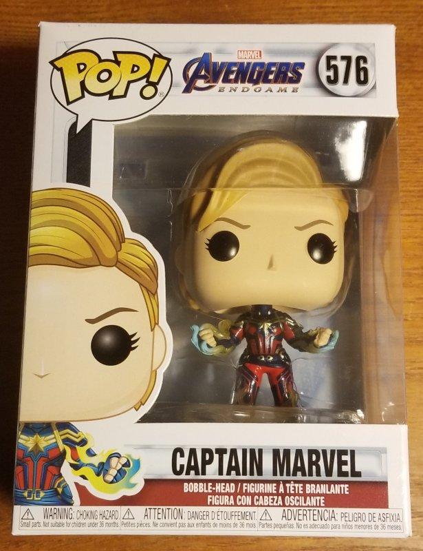 Funko Pops Avengers Endgame Captain Marvel #576