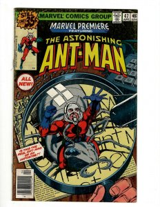 Marvel Premiere # 47 FN/VF Comic Book Feat. Astonishing Ant-Man Avengers OF2