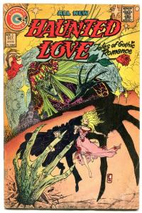 Haunted Love #6 1974- Gothic Romance- Chartlon Comics VG+