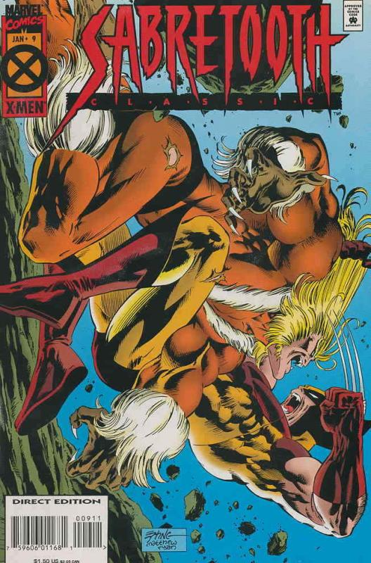 Sabretooth Classic #9 VF/NM; Marvel | save on shipping - details inside