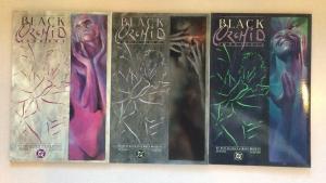 Black Orchid 1-3 Full Run Set Near Mint Neil Giaman Dave Mckean DC