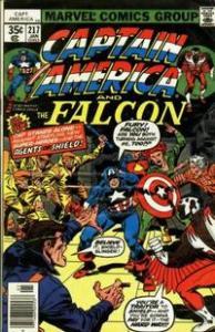 Marvel Comics Captain America #217 1st App. Marvel Boy (Quasar) VF+