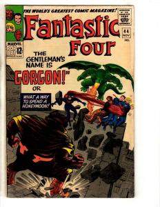 Fantastic Four #44 FN/VF Marvel Comic Book Thing Dr. Doom Human Torch Surfer FH2