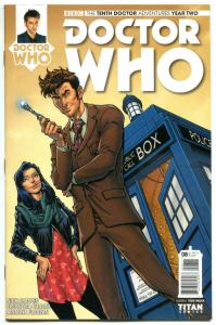 DOCTOR WHO #8 A, NM, 10th, Tardis, 2015, Titan, 1st, more DW in store, Sci-fi