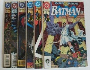 Batman #470, 472, 474, 502, 503,504 lot of 6 Copper Age Comics NM 9.4 HIGH GRADE