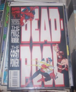 Deadpool #2 (Sep 1993, Marvel) juggernaut  black tom cassidy x men mutant movie