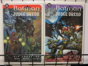 BATMAN JUDGE DREDD DIE LAUGHING (1998) 1-2