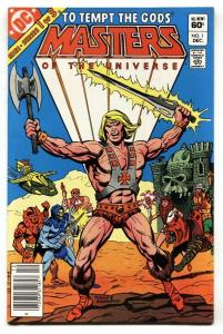 Masters of the Universe #1 1st issue HE-MAN comic book DC 1982 VF-