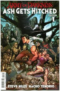 ARMY OF DARKNESS Ash Gets Hitched #1 C, NM-, Bruce Campbell, 2014, more in store