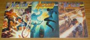 Nexus: Alien Justice #1-3 VF/NM complete series MIKE BARON steve rude set 2 lot