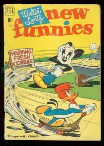 WALTER LANTZ NEW FUNNIES #168 1951-WOODY WOODPECKER FN