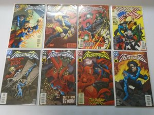 Nightwing lot 49 different from #30-149 8.0 VF (1999-2008 1st Series)
