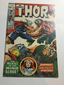 Thor 172 Vf+ Very Fine+ 8.5 Marvel Comics