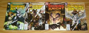 Seven Soldiers: Shining Knight #1-4 VF/NM complete series - grant morrison 2 3