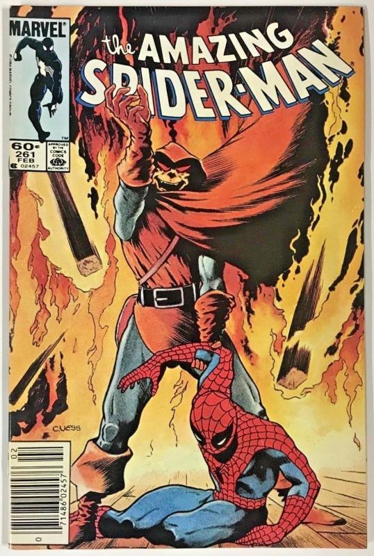 AMAZING SPIDER-MAN#261 VF 1985 MARVEL COMICS