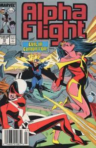 Alpha Flight (1st Series) #72 VF; Marvel | save on shipping - details inside