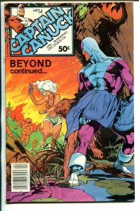 Captain Canuck #14 1981-CKP Products-printed in Canada-VF