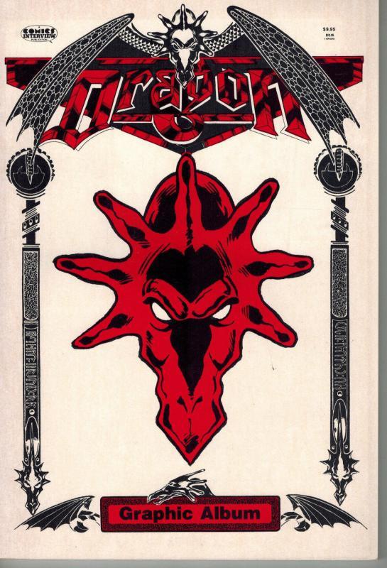 Dragon Graphic Album (Comics Interview 1987) Henry Vogel Willie Peppers Fantasy