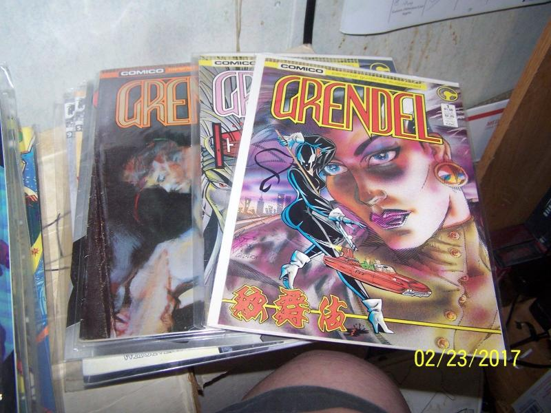 grendel comics lot 16 issues #  comico 1X(2) 2X (2) 18 22 23+ +tales wagner
