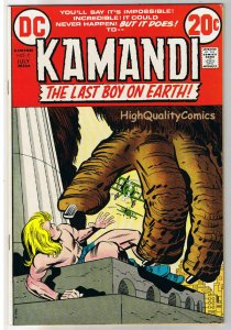 KAMANDI #7, VF, Jack Kirby, Last Boy on Earth, 1972, VFN, more in store