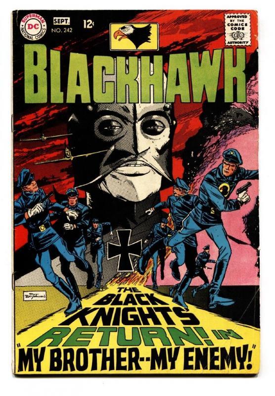 BLACKHAWK #242-DC-BLACK KNIGHTS RETURN  VG/FN