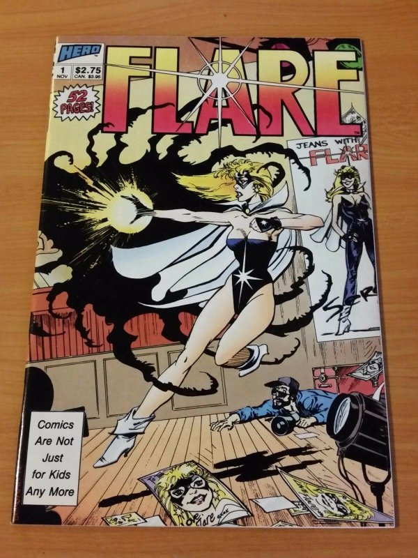 Flare #1 ~ NEAR MINT NM ~ (1988, Heroic Publications)