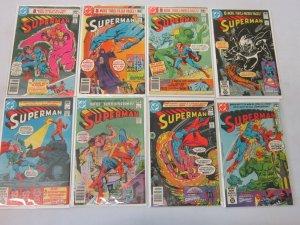 Superman Comic Lot #351-415 39 Different Books 6.0 FN (1980-1986)