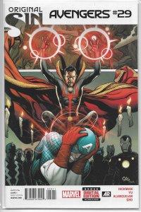 Avengers (vol. 5, 2013) # 29 FN (Original Sin) Hickman/Yu, Dr. Strange