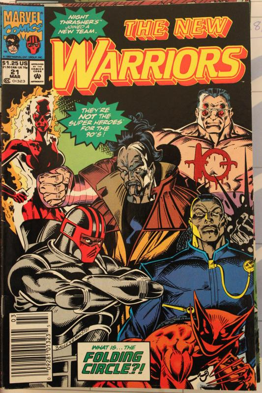 New Warriors 21 VG/FN