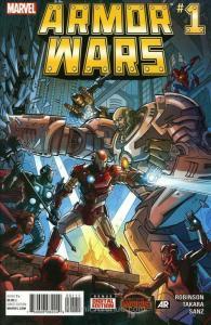 Armor Wars #1 VF/NM; Marvel | save on shipping - details inside