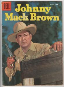 Four Color Double Cover #685 (May-56) VF High-Grade Johnny Mack Brown