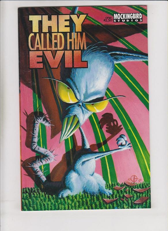 They Called Him Evil #1 VF/NM DOUG TENNAPEL COMIC BEFORE EARTHWORM JIM - rare