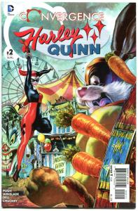 CONVERGENCE HARLEY QUINN #2, NM, 2015, Catwoman, Poison Ivy, more HQ in store, B
