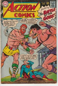 Action Comics(vol. 1) # 353   Battle of The Gods !