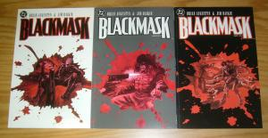 Blackmask #1-3 VF/NM complete series BRIAN AUGUSTYN jim baikie - dc comics set 2