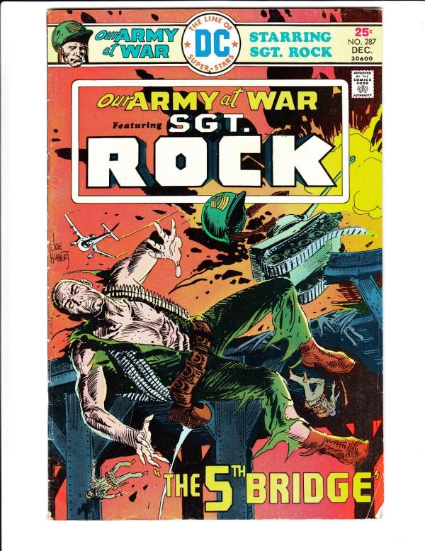 Our Army at War #287 (Dec-75) FN/VF Mid-High-Grade Easy Company, Sgt. Rock