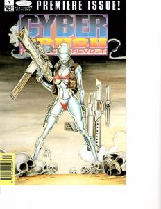 Lot Of 2 Comic Book Image Cyber Crush #1 and Stormwatch #1  AH12