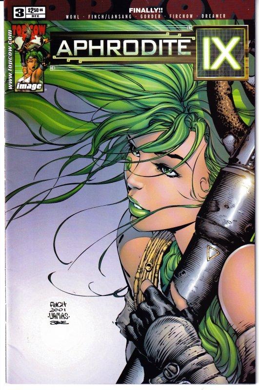 Aphrodite IX(mini-series, 2000)#1,2,3,4  Top Cow's Pleasure Android