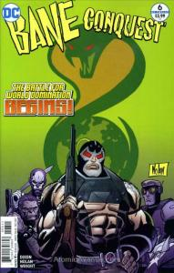 Bane Conquest #6 VF/NM; DC | save on shipping - details inside