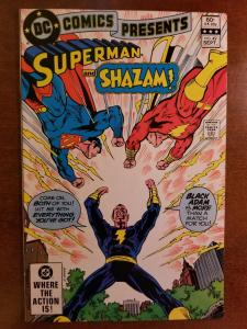 DC Comics Presents #49 - with Shazam & Superman
