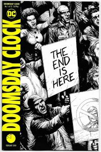 Doomsday Clock #1 / 2nd Printing Variant (DC, 2018) NM