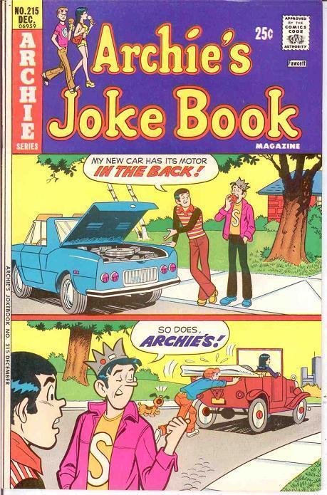 ARCHIES JOKE BOOK (1954-1982)215 VF-NM Dec. 1975 COMICS BOOK