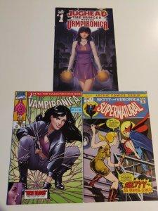 Betty&Veronica Supernatural 1 Blade homage, Vamperonica 1,Jughead vs Vamperonca1