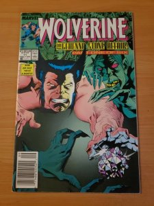 Wolverine #11 Newsstand Edition ~ NEAR MINT NM ~ (1989, Marvel Comics)