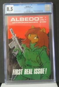 ALBEDO ANTHROPOMORPHICS #1 CGC 8.5 Graded Thoughts & Images 1984 Sakai Gallacci