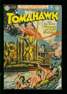 TOMAHAWK #7 1951- DC WESTERN -INDIAN ATTACK- GOLDEN AGE FN-