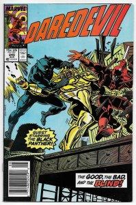 Daredevil #245 Black Panther (Marvel, 1987) FN