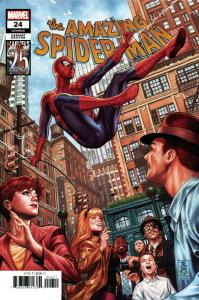Amazing Spider-Man #24 Marvels 25th Tribute Variant (2019) NM