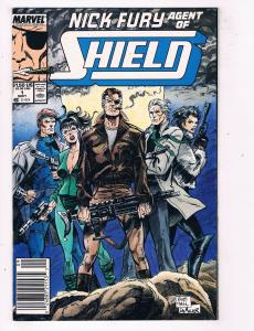 Nick Fury Agent of Shield #1Marvel Comic Book 1989 Avengers HH1